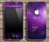 coat,galaxy print,iphone,jewels,iphone cover,iphone case,iphone 5 case,violet,apple,phone cover,phone,iphone 4s,cover,pretty,hipster,iphone cover galaxy,purple,sparkle,galaxy phone case.