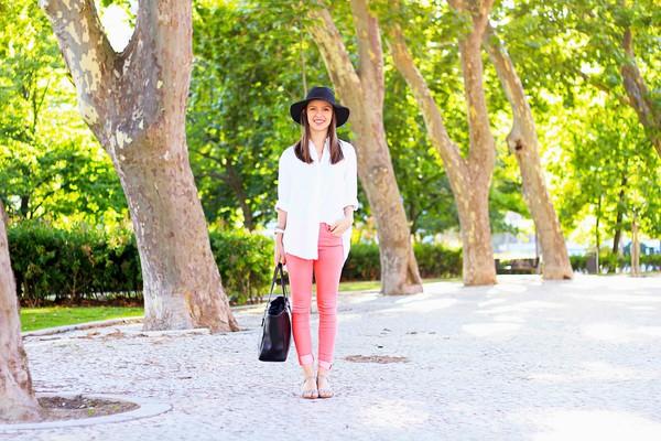 miss tangerine jeans shoes bag