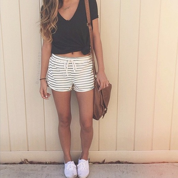 Shorts cute tumblr pretty love tumblr outfit for How to get foundation out of a white shirt