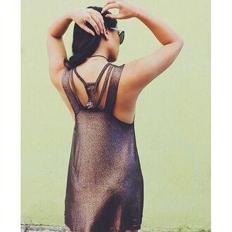 dress gold holidays rvca