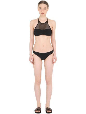 bikini mesh bikini mesh black red swimwear