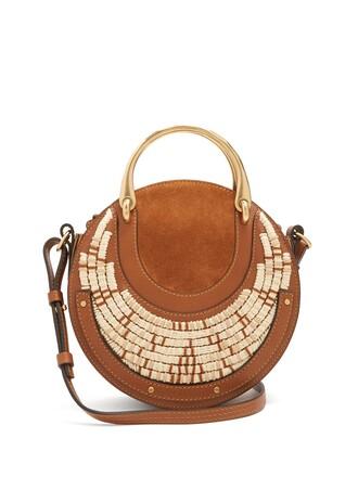 cross bag leather tan