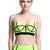 ROMWE | Dual-tone Fluorescent Green Bandeau Set, The Latest Street Fashion