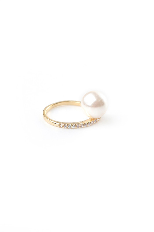 JADE GOLD TRIO MIDI RING SET | Rue Gembon