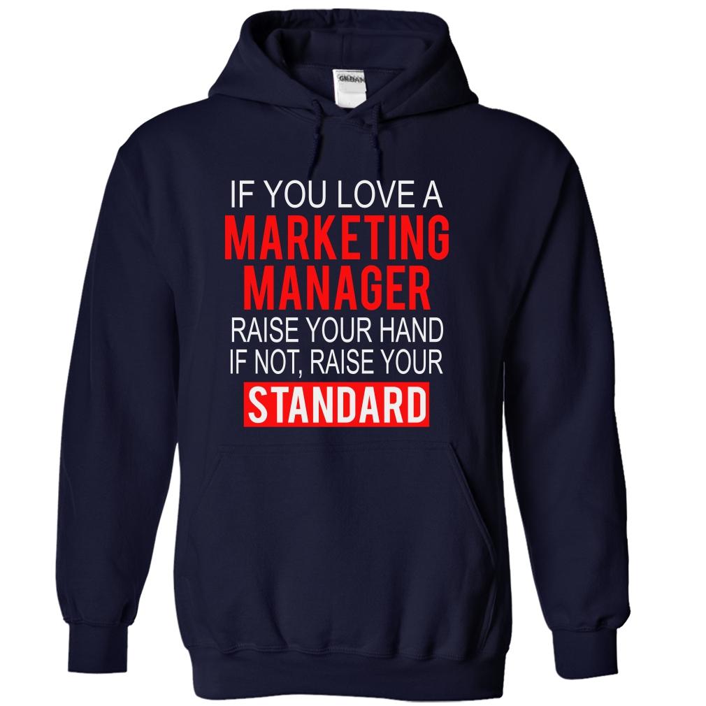 Marketing Manager Standard T-Shirt & Hoodie