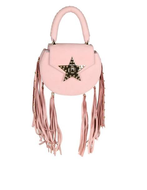 Salar bag suede pink
