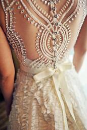 dress,wedding dress,lace dress,white dress,formal dress,hipster wedding,prom dress,white,gown,wedding,ribbon,silk,bridal gown,ball gown dress,ball gown wedding gown,vintage wedding dress,cut-out dress,open back,jewels,lace wedding dress,backless dress,crochet lace dress,spring dress,daimond,cute dress,earphones,gloves,long prom dress,one,beige,bohemian,boho,lace,cute,prom,elegant,white wedding prom dress,perfect,gorgeous,details,beautiful,beautyful,amazing,sweet,cream,embroidery wedding dresses,see threw,style,white diamods,prom lace rhinestones,pretty,beaded dress