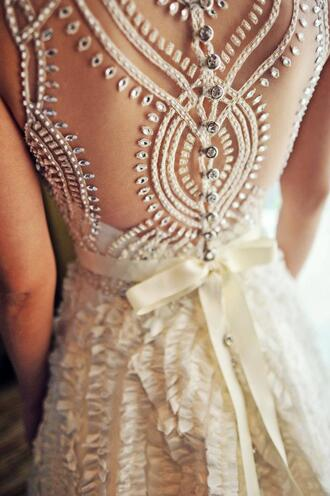 dress wedding dress lace dress white dress formal dress hipster wedding prom dress white gown wedding ribbon silk bridal gown ball gown dress ball gown wedding gown vintage wedding dress cut-out dress open back jewels lace wedding dress backless dress crochet lace dress spring dress daimond cute dress earphones gloves long prom dress one beige bohemian boho lace cute prom elegant white wedding prom dress perfect gorgeous details beautiful beautyful amazing sweet cream embroidery wedding dresses see threw style white diamods prom lace rhinestones pretty beaded dress
