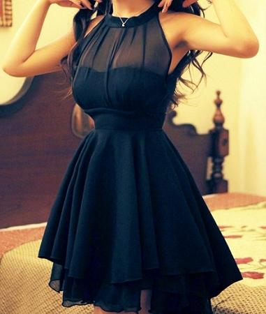 Peplum Party Dress