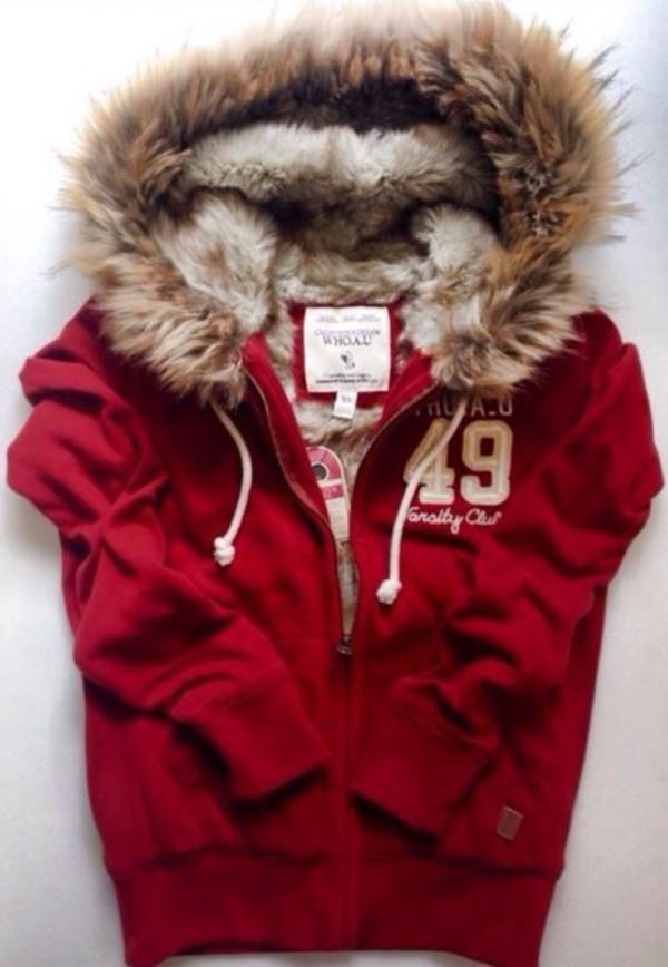 jacket fur f/w fashion casual warm autumn/winter