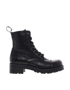 Bronx | Bronx Lace Up Worker Boots at ASOS