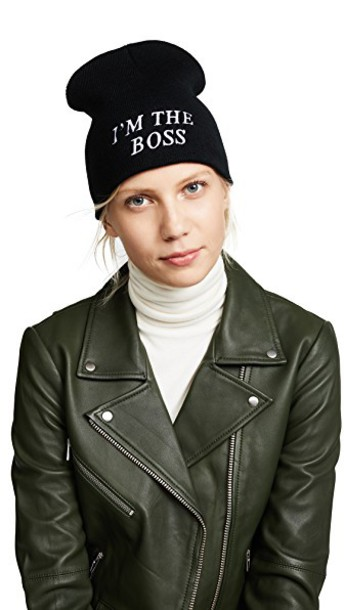 Private party boss hat black