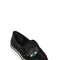 20mm eye embroidered silk loafers