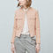Flap-pocket suede jacket - women | mango usa