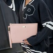 bag,nude,beige,pink,girly,summer,spring,clutch,light pink,dusty pink,rose wholesale