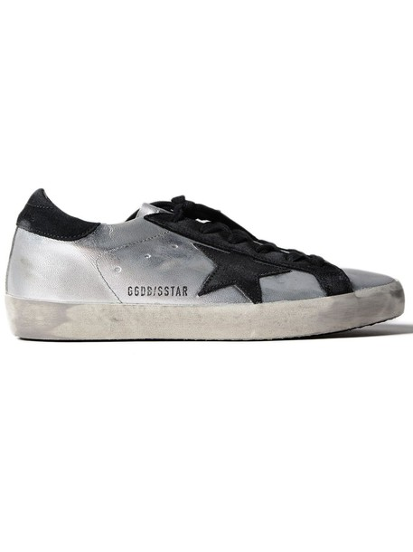 Golden goose sneakers. sneakers black silver shoes