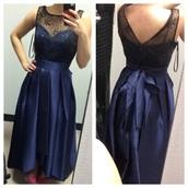 dress,purple dress,blue/indigo,purple,blue dress,prom dress,hi low dresses,bows,bow dress