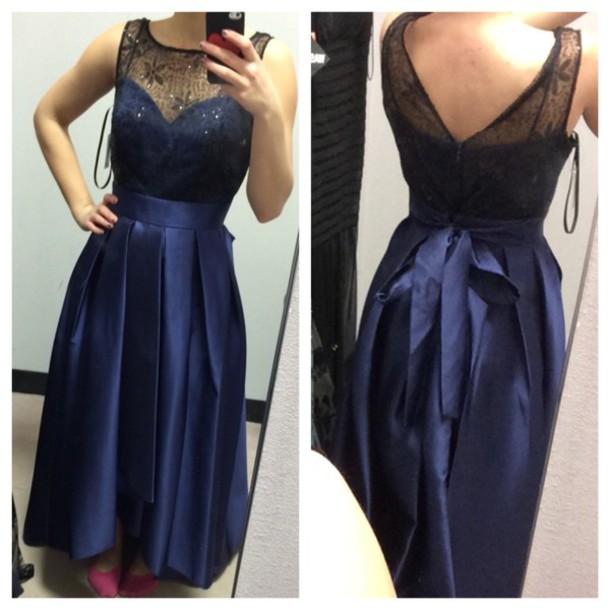 dress purple dress blue/indigo purple blue dress prom dress hi low dresses bows bow dress