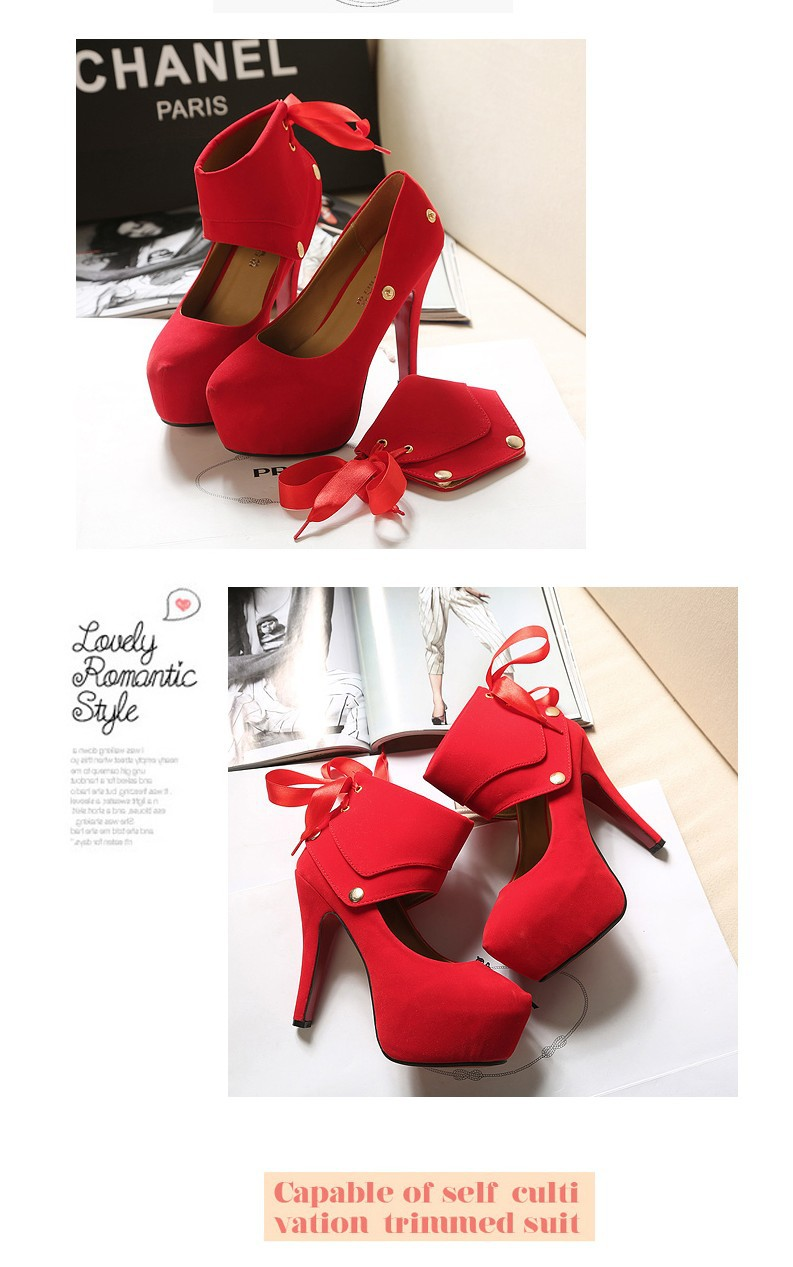 Free shipping Blue/Red/Black Bottom Pumps Women's High Heels Shoes.2Wear Sandals Designer Shoes New  2013 ItemsThe Unique Heel-in Pumps from Shoes on Aliexpress.com