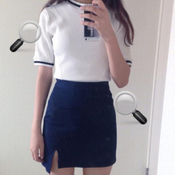 9edfbefa9 skirt, denim, blue skirt, denim skirt, a line skirt, a line skirt ...