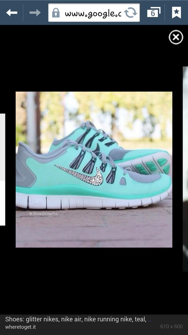 shoes nike glitter