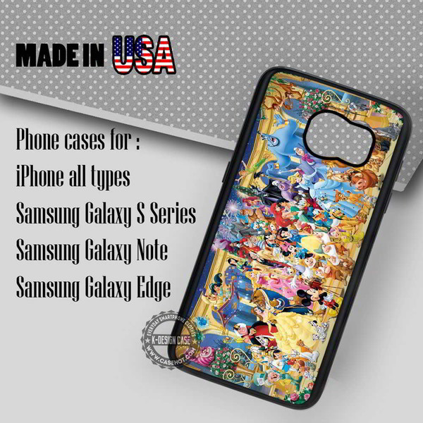 phone cover princess disney castle