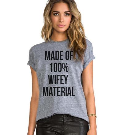 100% wifey material luxury brand la tee · luxury brand la · online store powered by storenvy