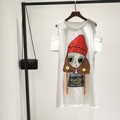 dress,it girl shop,cartoon