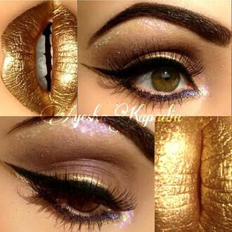 make-up golden
