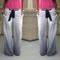On sale 2015 new fashion women long pants joggers sportpants comfortable slim striped casual trousers belt plus size