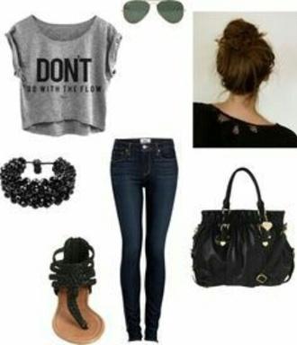 bag purse black purse