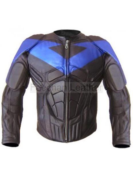 jacket nightwing leathercostume