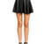 Faux Leather Skater Skirt - GoJane.com