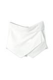 Sirenlondon — asymmetric skirt shorts