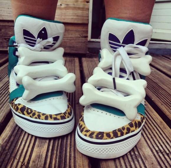 bones adidas sneakers