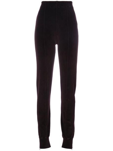 yeezy sweatpants women cotton purple pink pants