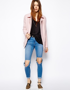ASOS Petite | ASOS PETITE Exclusive Textured Coat at ASOS
