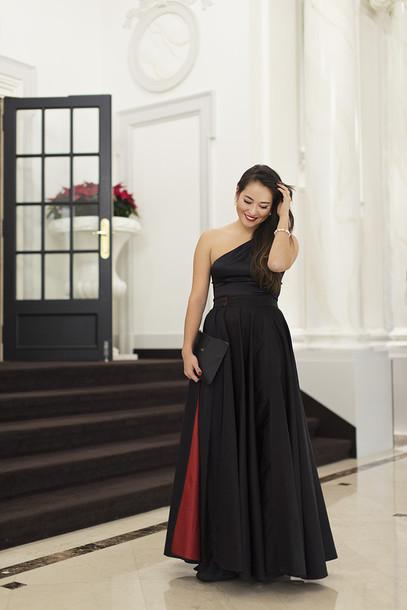 blaastyle blogger gown black dress dress bag