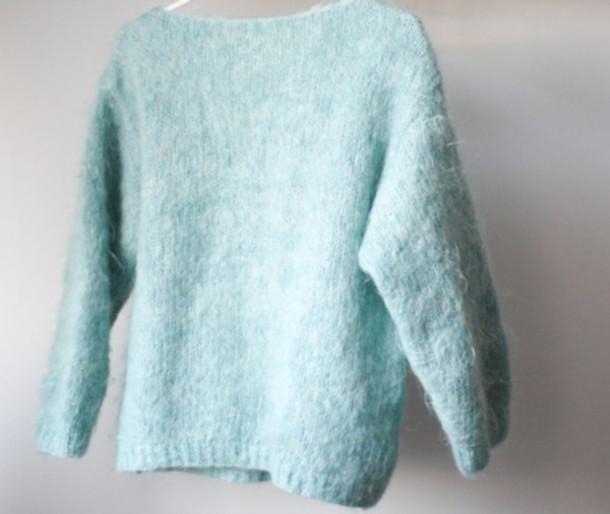 wool blue sweater sweater