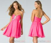 cheap in stock,homecoming dress,short prom gowns,2014,2015,under $100,pink bridesmaid dresses