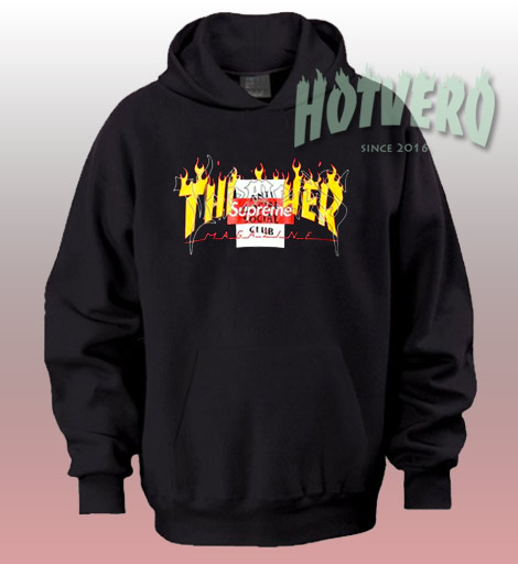 7ed5e8722 Thrasher Supreme Anti Social Club Hoodie Urban Fashion Collabs - Hotvero