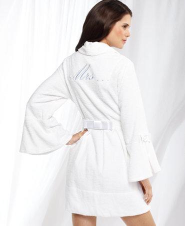 Betsey johnson bridal loop robe