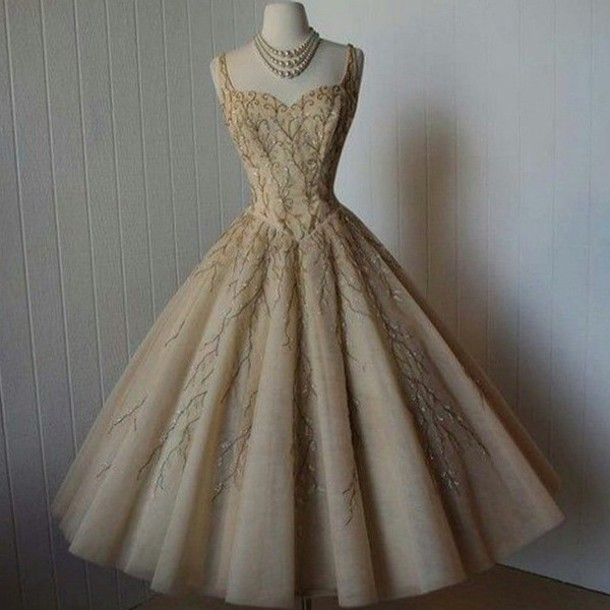 dress nude dress statement necklace ball gown dress princess dress