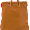 Diesel - handle applique backpack - women - calf leather - one size, brown, calf leather