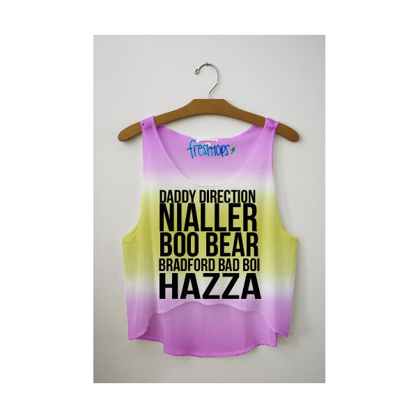 Nick Name Tie Dye Crop Top - Polyvore