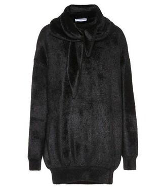 sweatshirt crewneck sweatshirt black sweater