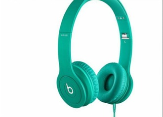 earphones beats by dre mint headphones