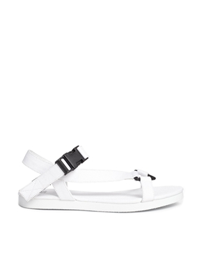 ASOS | ASOS FULL MOON Flat Sandals at ASOS