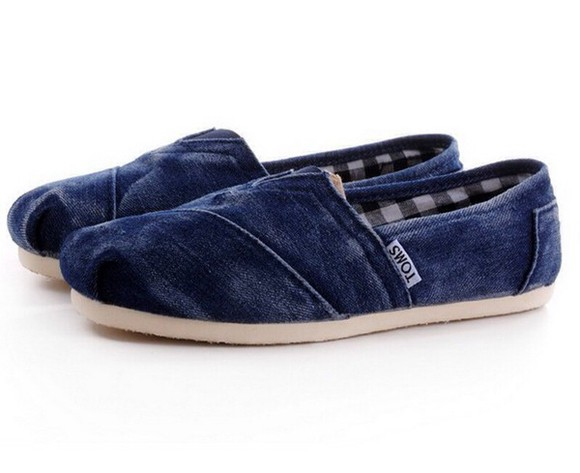 shoes toms jeans denim denim shoes