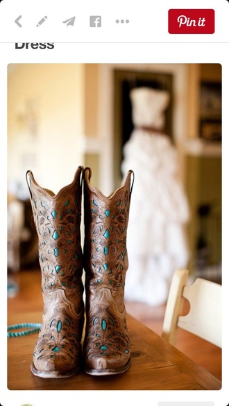 shoes boots cowgirl boots teal